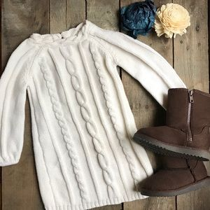 Toddler girls sweater dress- EUC- Size 2T